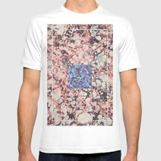 Inner Molecules White SMALL Mens Fitted Tee
