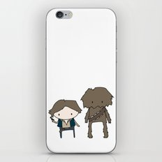 Han Solo & Chewie iPhone & iPod Skin