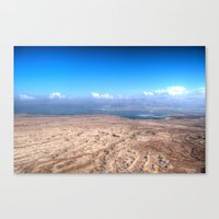 The Dead Sea Series #1 Canvas Print