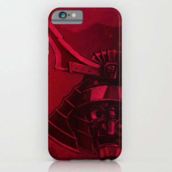 Kabuto with Mempo iPhone & iPod Case