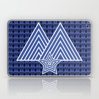 Winter Mountain Monark Pattern Laptop & iPad Skin