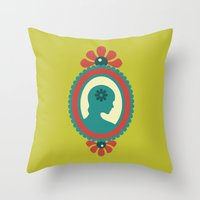 That Pretty Lady Throw Pillow