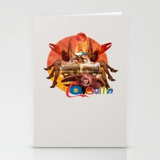 ConCrabCarSume 2 Stationery Cards