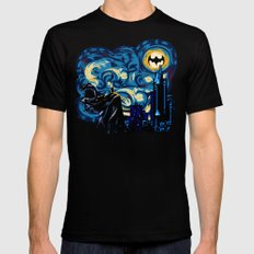 Starry Knight iPhone 4 4s 5 5c 6, pillow case, mugs and tshirt SMALL Mens Fitted Tee Black