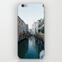 Empty boats in Venice iPhone & iPod Skin