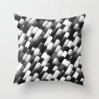 we gemmin (monochrome series) Throw Pillow