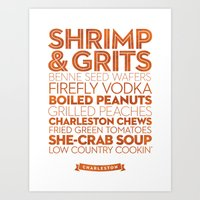 Charleston — Delicious… Art Print