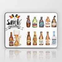 Belgium Beers Laptop & iPad Skin