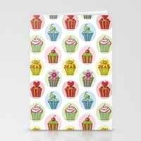 Quirky Cupcakes Stationery Cards