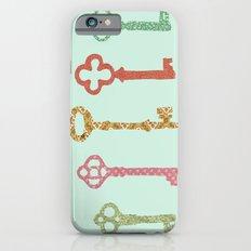 Skeleton Keys iPhone 6 Slim Case