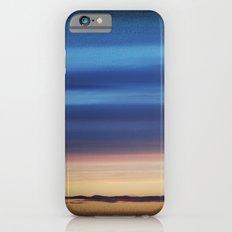 Blue Streaky Clouds iPhone 6 Slim Case