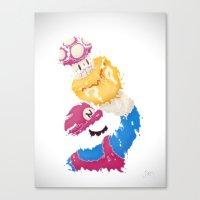 パワーアップ Canvas Print