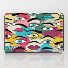 Eye, EyeBrow iPad Case
