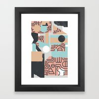 The Mole Framed Art Print
