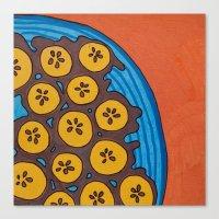 Fried Plantains Canvas Print