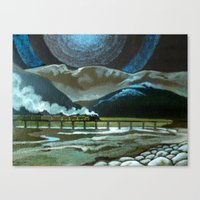 Night Passage - WW480 St… Canvas Print