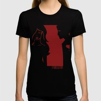 Unhealthy Womens Fitted Tee Black SMALL