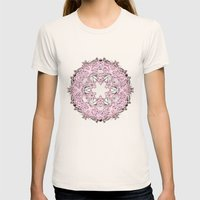 Circle Womens Fitted Tee Natural SMALL