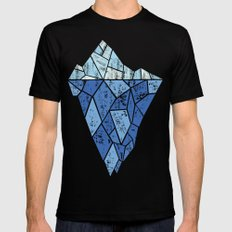 Iceberg Mens Fitted Tee Black SMALL