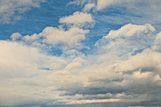 Clouds in the Sky Art Print