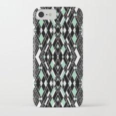 Art Deco Mint iPhone 7 Slim Case