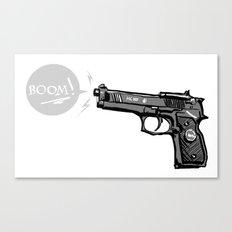 The Boom Canvas Print