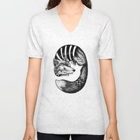 Sleepy Fox Unisex V-Neck