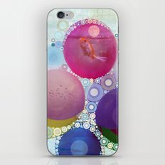 Feeling Groovy Collage iPhone & iPod Skin