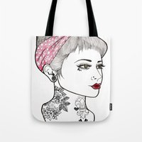 Nose Ring Tote Bag