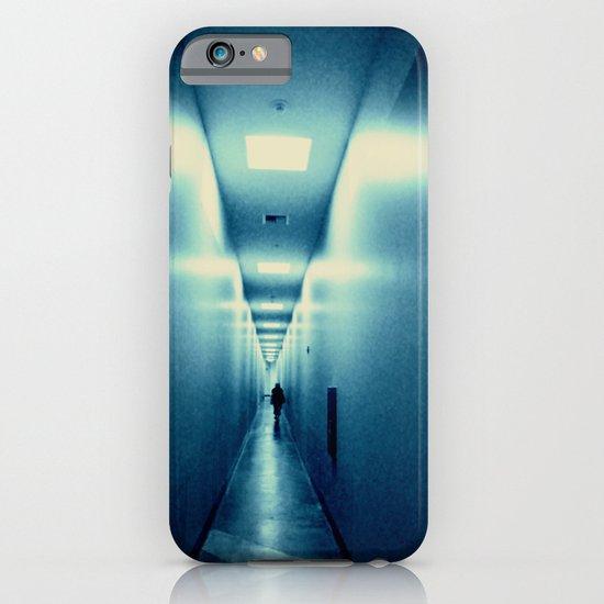blue hallway iPhone & iPod Case