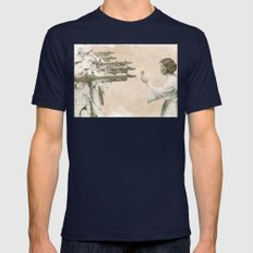 Flowers For Alderaan Mens Fitted Tee Navy SMALL