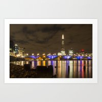 Night Shoot London Low T… Art Print