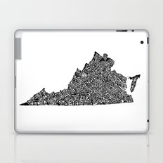 Typographic Virginia Laptop & iPad Skin