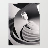Paper Sculpture #6 Canvas Print