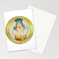 Occupy Wall Street Stationery Cards