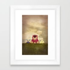 The Tragedy of Lotso Framed Art Print