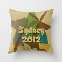 Sydney 2012 Throw Pillow