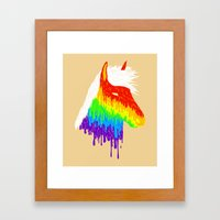 Horse Of A Different Col… Framed Art Print