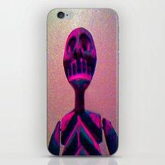 RED SKELETON iPhone & iPod Skin