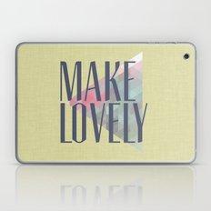 Make Lovely // Leaf Laptop & iPad Skin