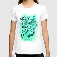 You Have Bewitched Me Womens Fitted Tee White SMALL