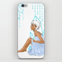 Isabelle and crystals iPhone & iPod Skin