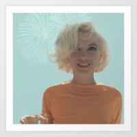 My Marilyn Monroe Art Print