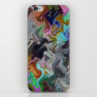 Hammer Rain iPhone & iPod Skin