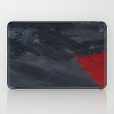 quote: find A beautiful place and get lost iPad Case