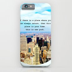 This is New York Slim Case iPhone 6s