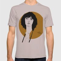 Patti Smith Mens Fitted Tee Cinder SMALL