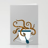Octopus in a Teacup Stationery Cards