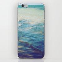 Fisherman In The Distanc… iPhone & iPod Skin