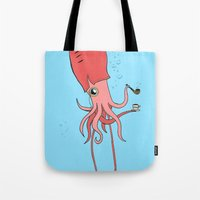 Gentlesquid Tote Bag